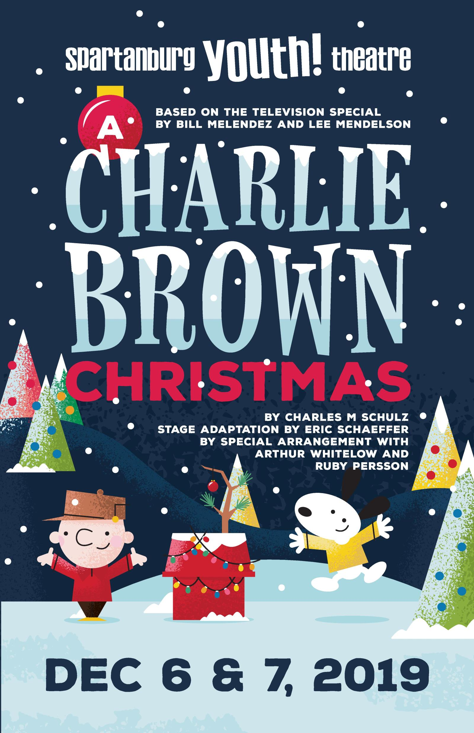 Charlie Brown Christmas Special 2019 A CHARLIE BROWN CHRISTMAS :: Chapman Cultural Center