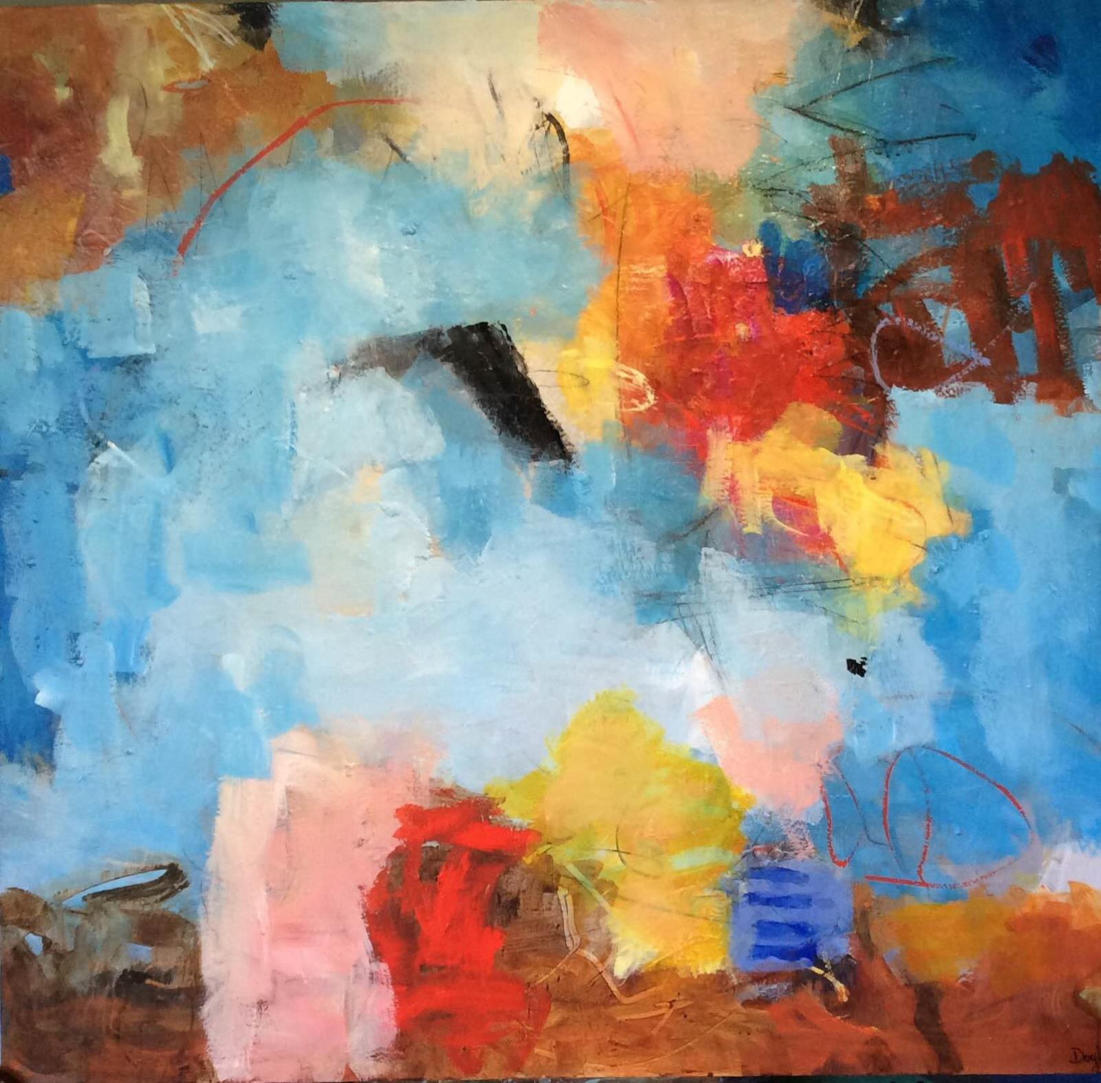 Upstate Nonobjective Artist To Exhibit In Guild Gallery At